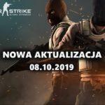 Aktualizacja CS GO (08 październik 2019)